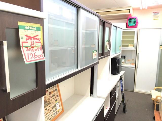 食器棚や棚など30~50%の値下げ中!|オフハウス豊田上郷店
