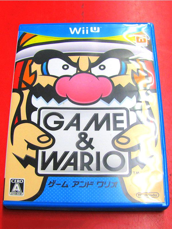 Wii Uソフト GAME&WARIO |ハードオフ三河安城店