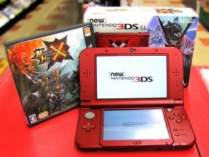 New 3DS LL モンスターハンタークロス スペシャルパック| ハードオフ三河安城店
