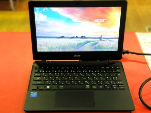 acer ノートパソコン ES1-111M-F12N| ハードオフ安城店