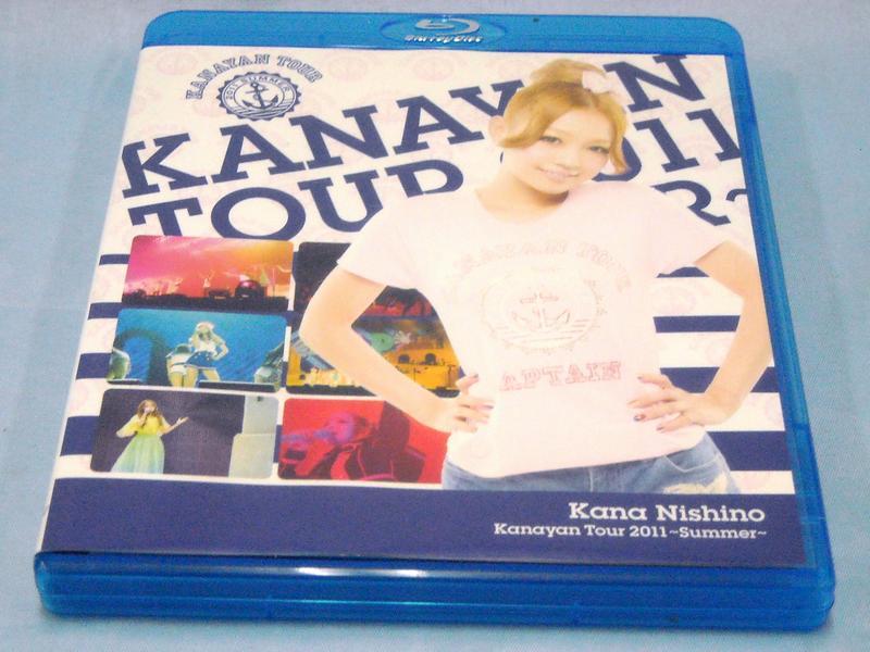 BD 西野カナ Kanayan Tour 2011~Summer  ハードオフ西尾店