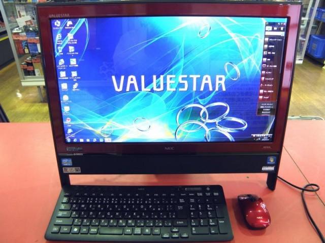 NEC モニタ一体型パソコン PC-VN770GS3ER| ハードオフ安城店