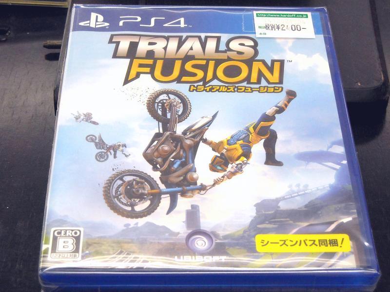 PS4 トライアルズ フュージョン| ハードオフ西尾店
