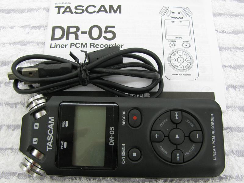 TASCAM デジタルレコーダー DR-05| ハードオフ三河安城店