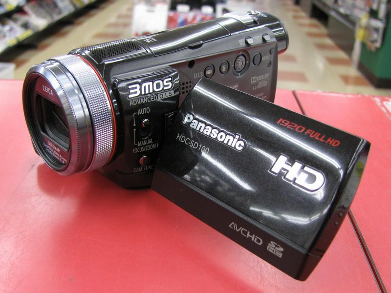 Panasonic デジタルビデオカメラ HDC-SD100| ハードオフ三河安城店