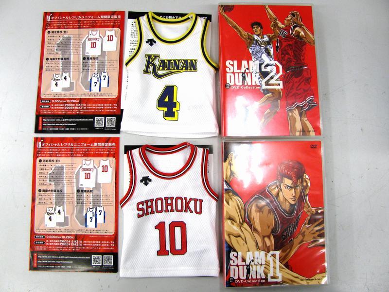 SLAM DUNK DVD-collection 1・2| ハードオフ三河安城店