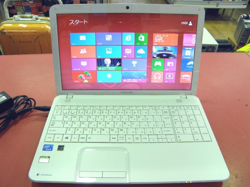 東芝 ノートパソコン dynabook PABX351HSWWT| ハードオフ安城店