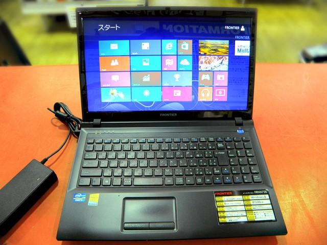 FRONTIER ノートパソコン FRNX720| ハードオフ安城店