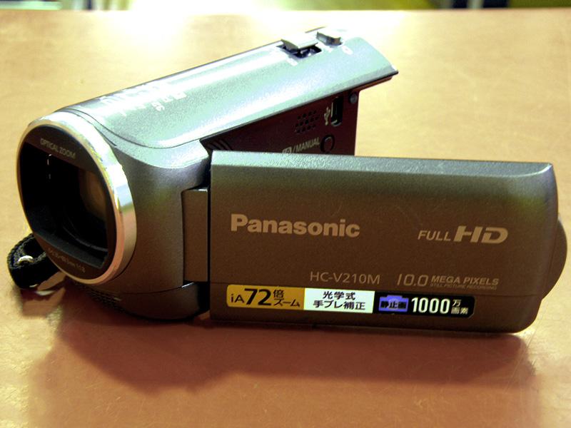 Panasonic デジタルムービーカメラ HC-V210M ハードオフ安城店