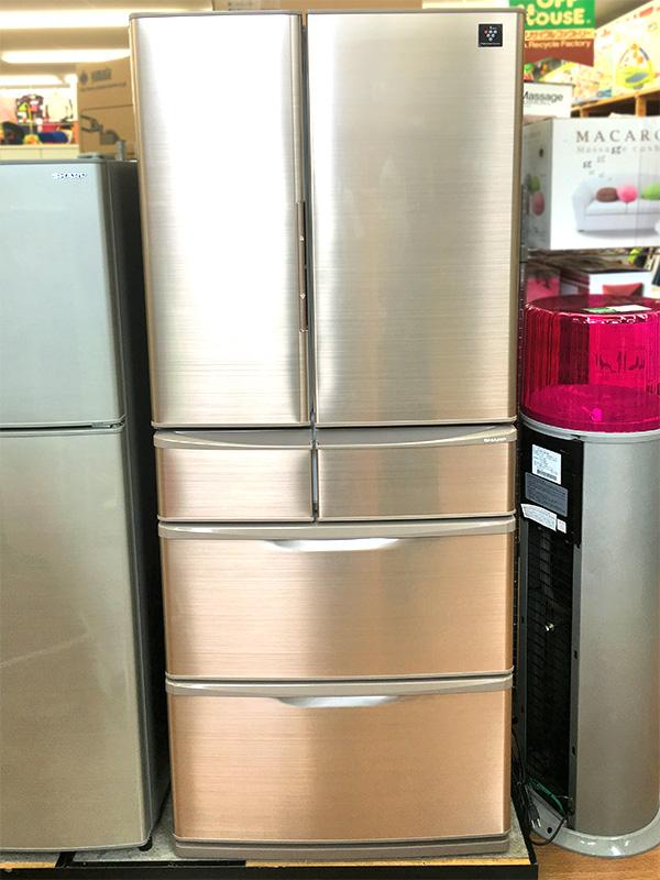 シャープ 冷蔵庫 445L 2015年式 SJ-XF44A-T | オフハウス西尾店