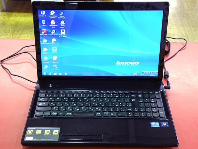 lenovo ノートパソコン G580 26897SJ| ハードオフ安城店