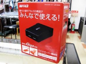 BUFFALO USBデバイスサーバー LDV-2UH| ハードオフ三河安城店