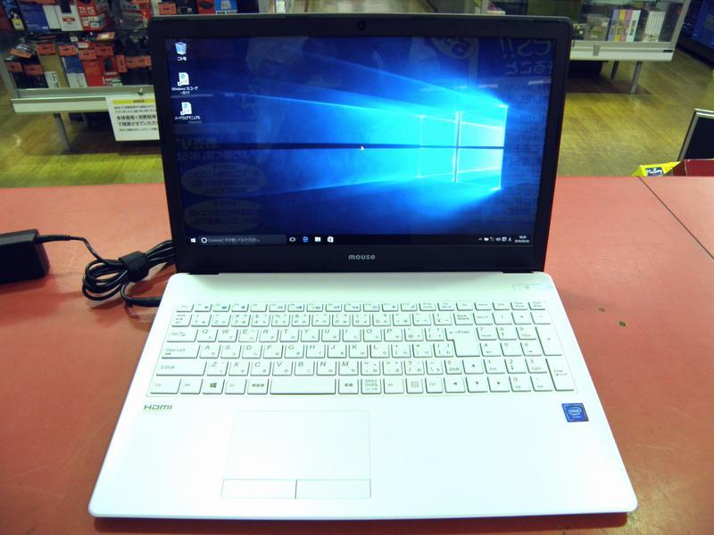 mouse ノートパソコン MB-B500E| ハードオフ安城店