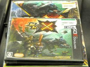 NINTENDO 3DS モンスターハンターX(クロス) | ハードオフ西尾店