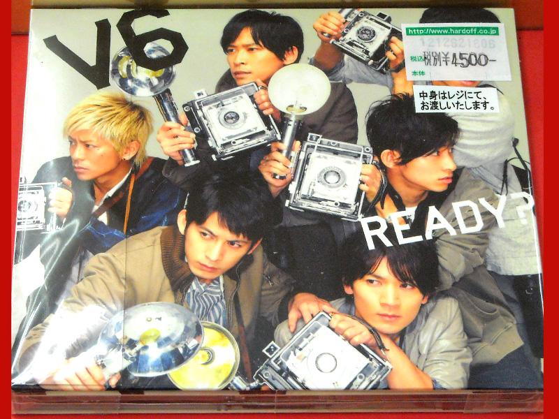 CD V6 READY? 初回限定盤B   ハードオフ西尾店