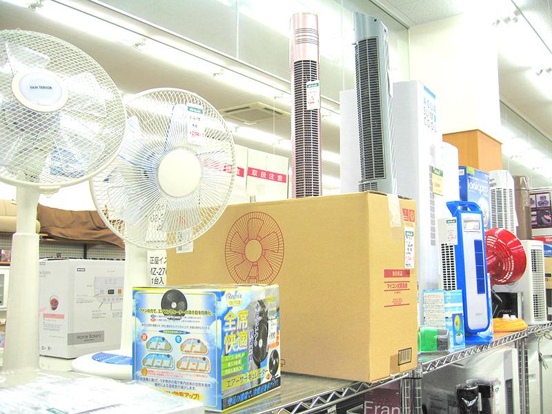 夏物家電を買取大募集しています!!   オフハウス三河安城店