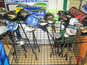 ゴルフコーナー クラブ入れ替えしました | オフハウス三河安城店