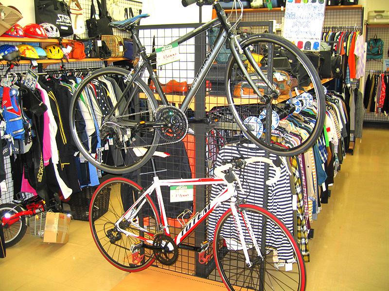 自転車コーナー入れ替えました   オフハウス三河安城店