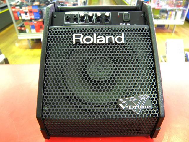 Roland Vドラムス用モニターアンプ PM-10 | ハードオフ安城店