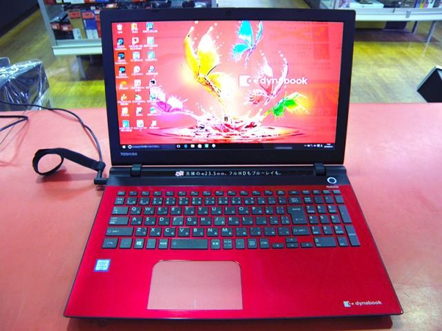 東芝 ノートパソコン dynabook PT55URS-BWA3| ハードオフ安城店