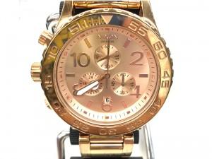 ニクソン 腕時計 クロノグラフ THE42-40   オフハウス豊田上郷店