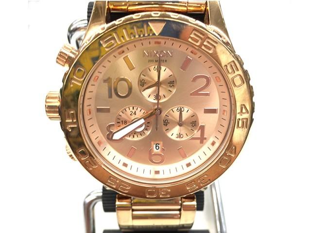 ニクソン 腕時計 クロノグラフ THE42-40 | オフハウス豊田上郷店