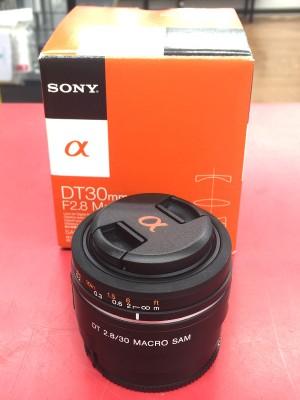 SONY レンズ DT 30mmF2.8 Macro SAM | ハードオフ豊田上郷店