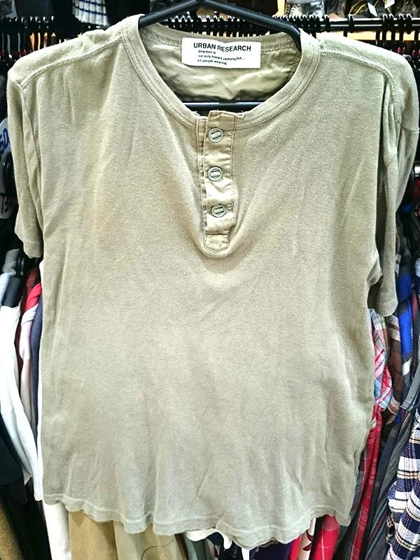 アーバンリサーチ ヘンリーネックTシャツ | オフハウス西尾店