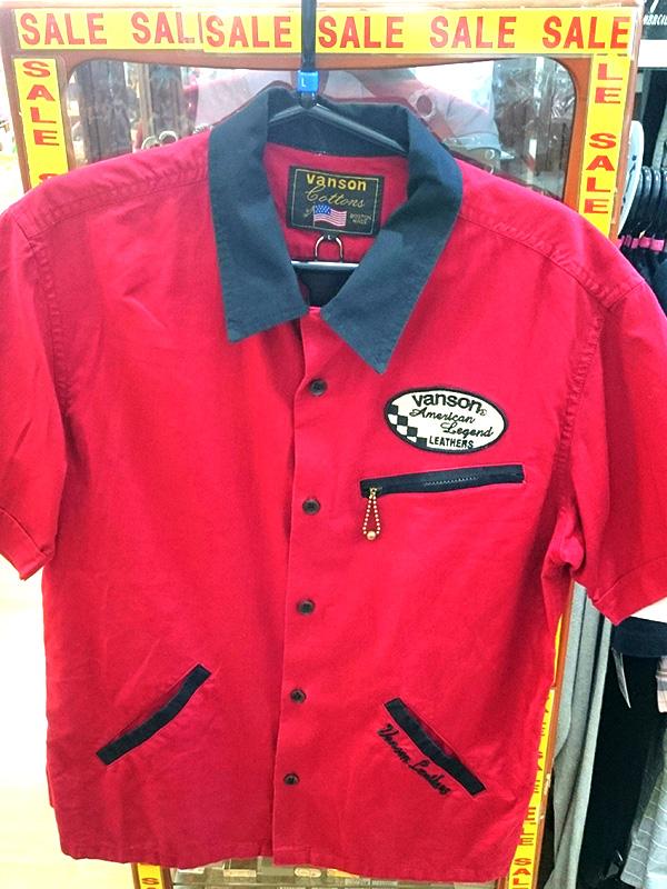 VANSON ボーリングシャツ Lサイズ | オフハウス西尾店