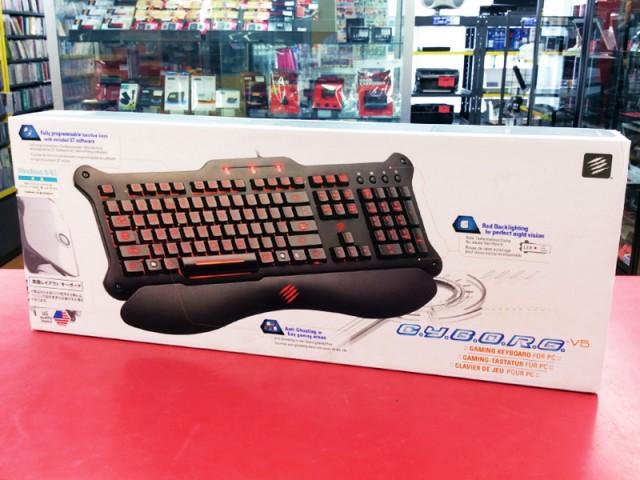 MadCatz ゲーミングキーボード Cyborg V.5| ハードオフ豊田上郷店