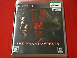 PS3 METAL GEAR SOLIDⅤ THE PHANTOM PAIN | ハードオフ西尾店