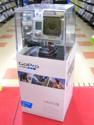 GoPro ウェアラブルカメラ HERO3 | ハードオフ三河安城店