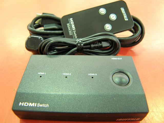 BUFFALO HDMI切替器 BSAK302 | ハードオフ安城店