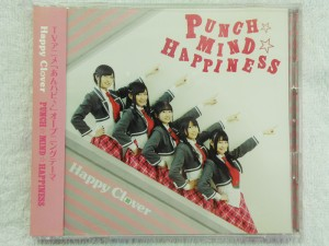 Happy Clover 「PUNCH☆MIND☆HAPPINESS」 CD+DVD| ハードオフ安城店