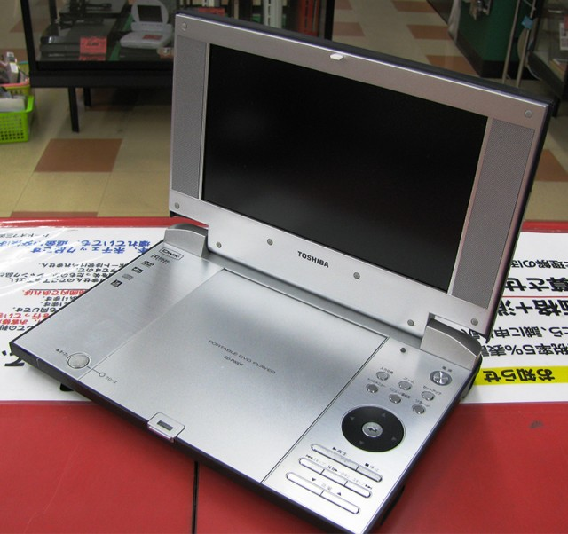TOSHIBA ポータブルDVDプレーヤー SD-P90DT| ハードオフ三河安城店