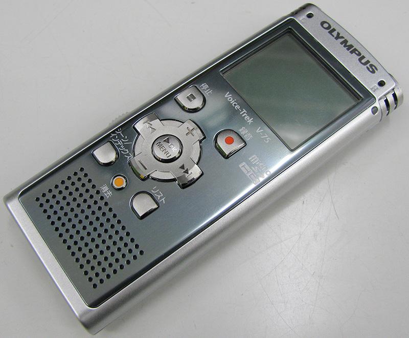 OLYMPUS リニアPCM対応ICレコーダー V-75| ハードオフ三河安城店