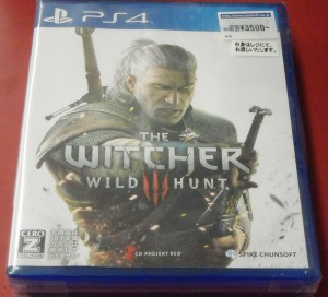 SPIKE CHUNSOFT THE WITCHER WILD HUNT| ハードオフ西尾店
