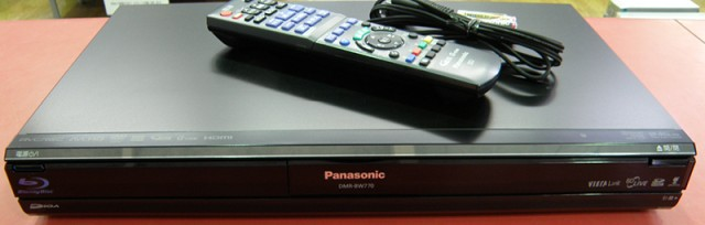 Panasonic BDレコーダー DMR-BW770  ハードオフ安城店