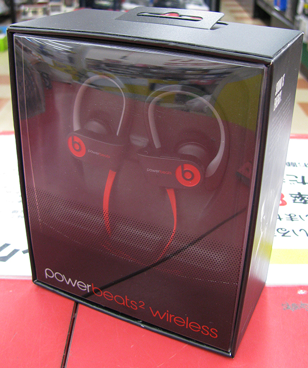Bluetoothイヤホン PowerBeats2 Wireless| ハードオフ三河安城店