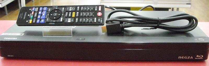TOSHIBA BD/HDDレコーダー REGZA DBR-Z610| ハードオフ西尾店