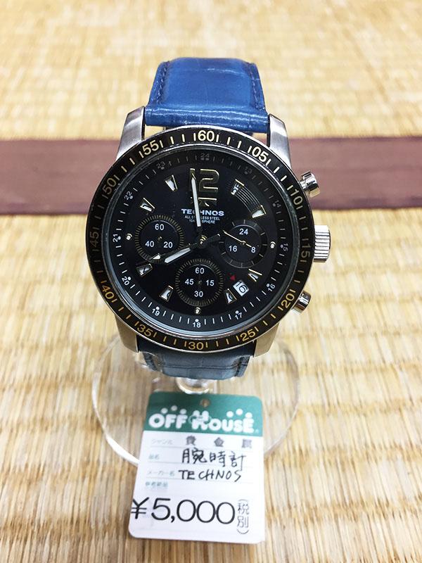 TECHNOS 腕時計| オフハウス西尾店