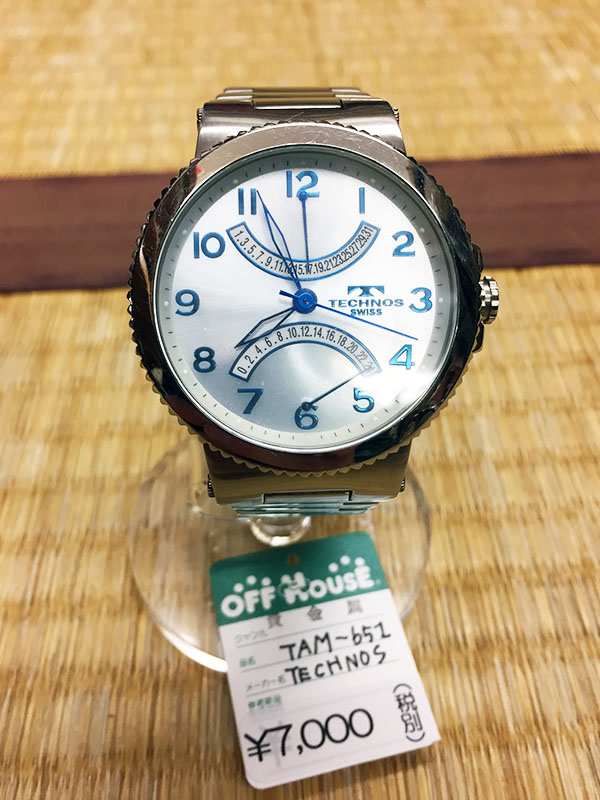 TECHNOS 腕時計 TAM-651| オフハウス西尾店