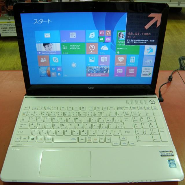 NEC ノートパソコン PC-LS550SSW| ハードオフ安城店