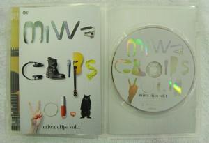 DVD miwa clips vol.1| ハードオフ安城店