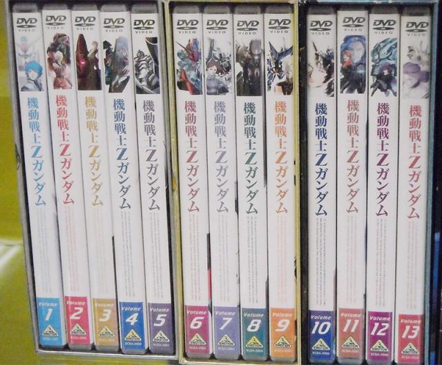 バンダイビジュアル 機動戦士Zガンダム DVD-BOX | ハードオフ西尾店