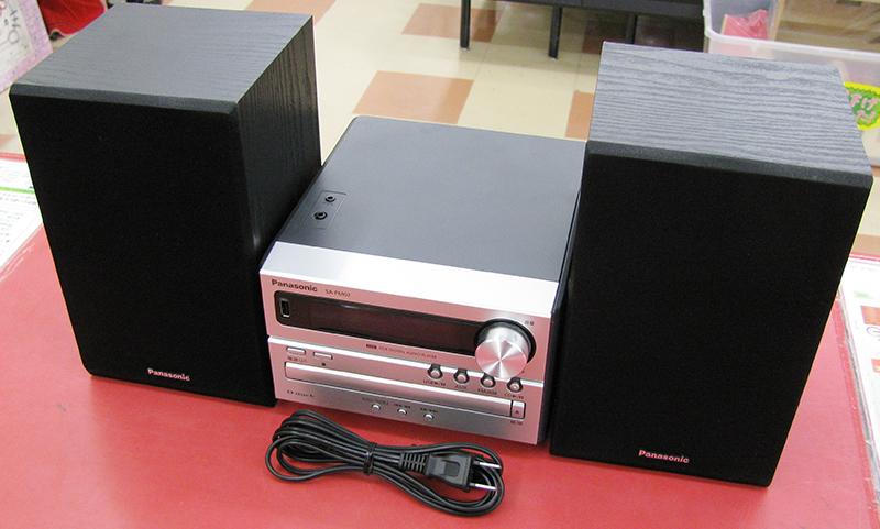 Panasonic ミニコンポ SA-PM02  ハードオフ三河安城店