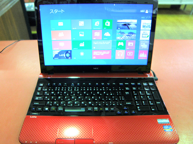 NEC ノートパソコン PC-LS350LS1YR | ハードオフ安城店
