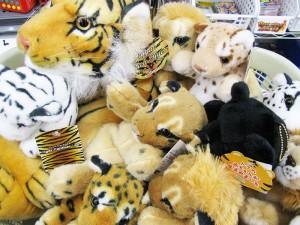ネコ科の猛獣ぬいぐるみ入荷しました。| ハードオフ三河安城店