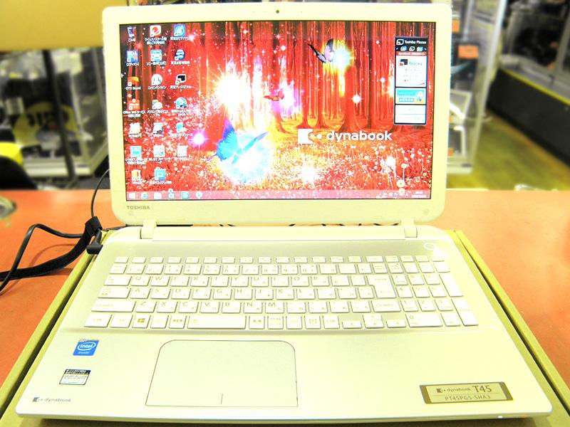 TOSHIBA ノートパソコン PT45PGS-SHA3 | ハードオフ安城店