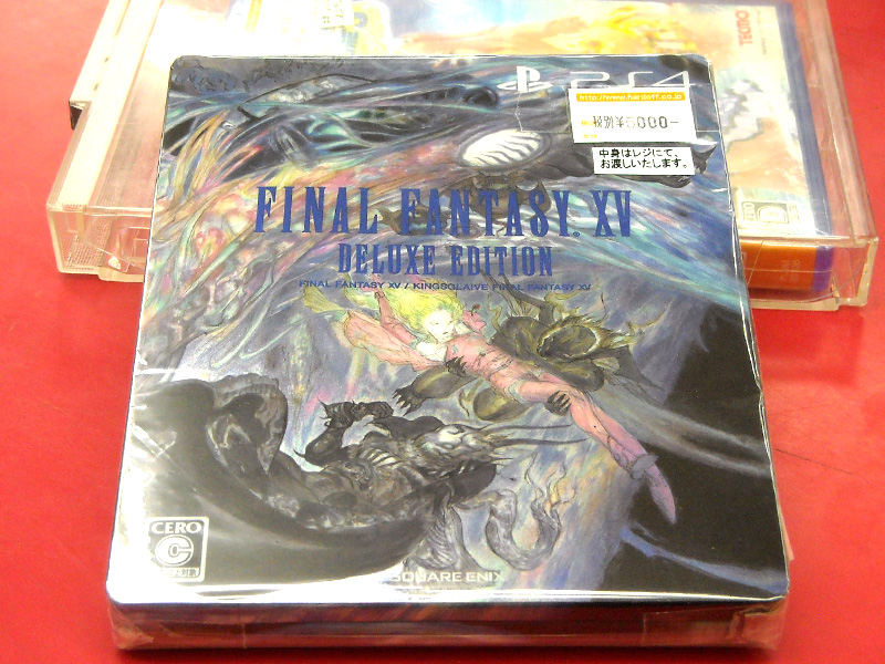 PS4 FINAL FANTASY XVデラックスエディション | ハードオフ西尾店
